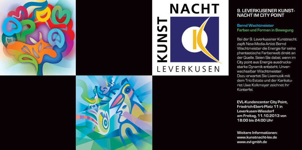 9. LEVERKUSENER KUNSTNACHT IM CITY POINT