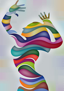 Waved Dancer by Bernd Wachtmeister